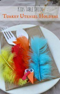 Turkey Utensil Pocket