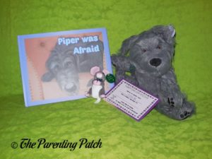 'Piper Was Afraid' Book and Plushes