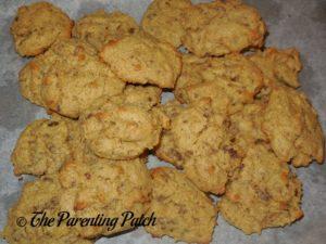 Almond Chocolate Chunk Pumpkin Cake Cookies