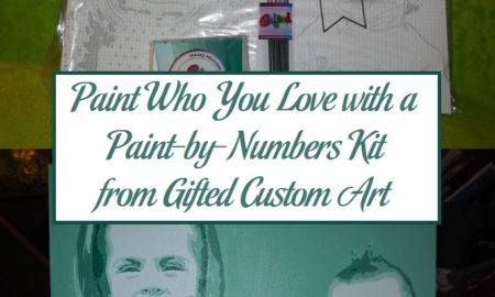 Paint Who You Love with a Paint-by-Numbers Kit from Gifted Custom Art