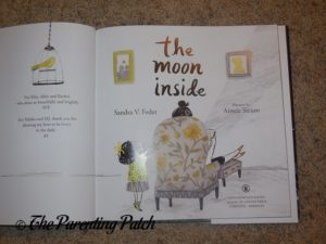 Inside Pages of 'The Moon Inside' 1
