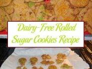 Dairy-Free Rolled Sugar Cookies Recipe