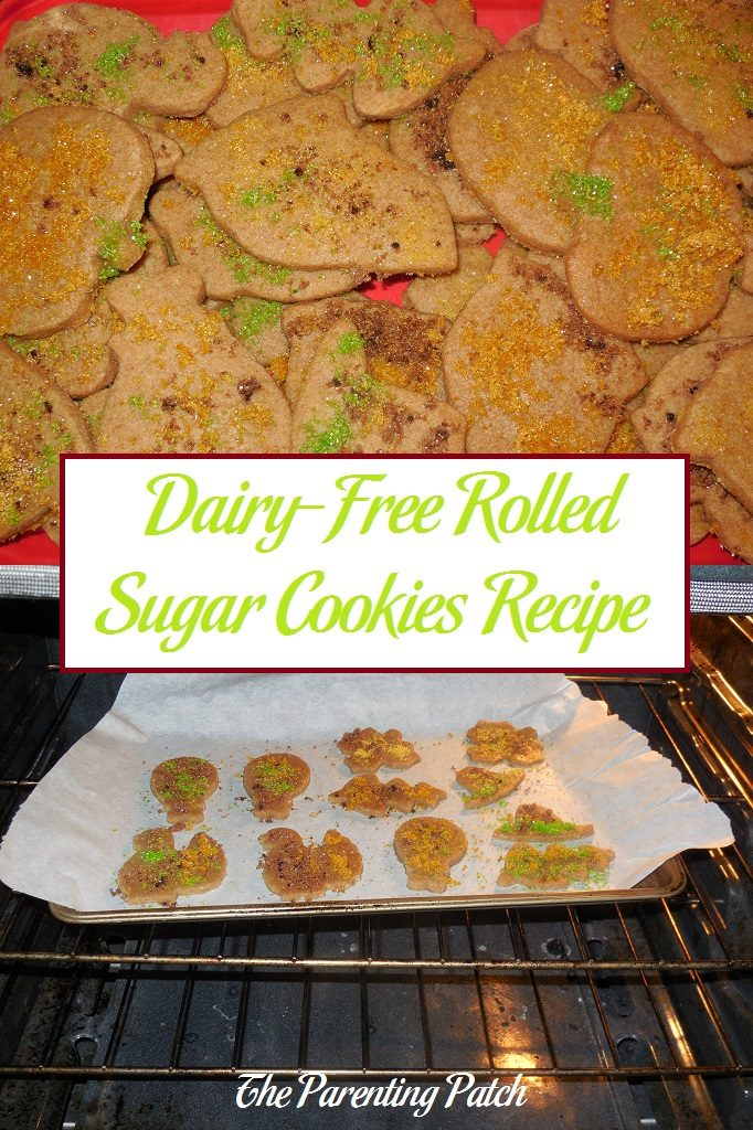 Dairy-Free Rolled Sugar Cookies Recipe