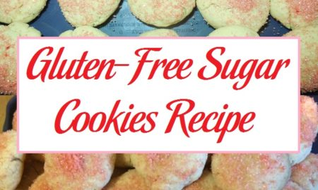 Gluten-Free Sugar Cookies Recipe