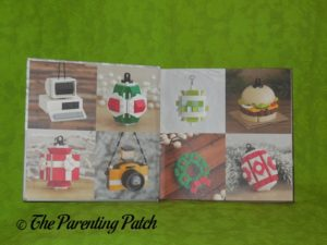 End Pages of 'The LEGO Christmas Ornaments Book: 15 Designs to Spread Holiday Cheer'