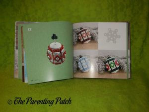 Inside Pages of 'The LEGO Christmas Ornaments Book: 15 Designs to Spread Holiday Cheer' 3
