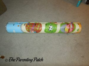 Rolled Up Baby Care Large Busy Farm Foam Play Mat