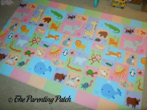 Alphabet Side of Baby Care Large Busy Farm Foam Play Mat