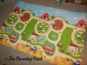 Farm Side of Baby Care Large Busy Farm Foam Play Mat