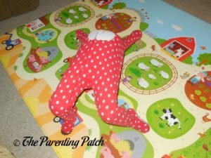 Tumbling on the Baby Care Large Busy Farm Foam Play Mat
