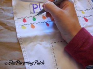 Doodling on the eatsleepdoodle Doodle Christmas Stocking 1