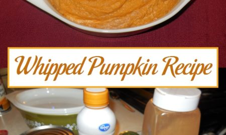 Whipped Pumpkin Recipe