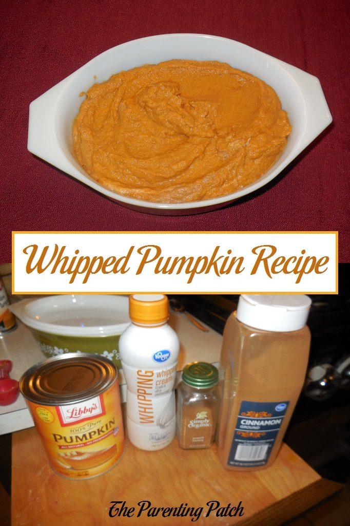 Whipped Pumpkin Recipe