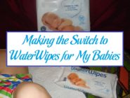 Making the Switch to WaterWipes for My Babies