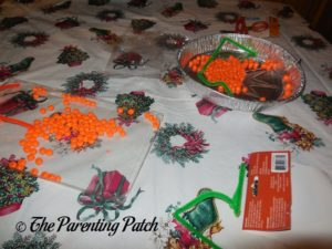 Orange Beads for Pony Bead Pumpkin Craft