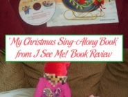 'My Christmas Sing-Along Book' from I See Me! Book Review