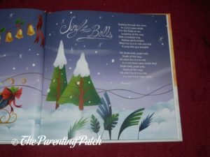 Inside Pages of 'My Christmas Sing-Along Book' from I See Me! 1