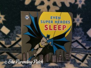'Even Super Heroes Sleep' of 'DC Super Heroes Little Library'