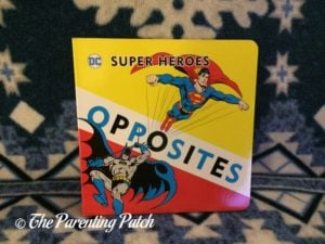 'Opposites' of 'DC Super Heroes Little Library'