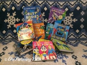 Books of 'DC Super Heroes Little Library'