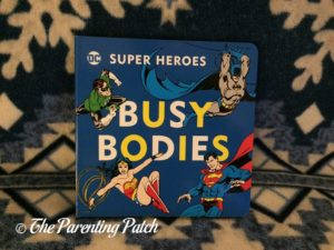'Busy Bodies' of 'DC Super Heroes Little Library'