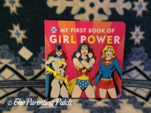 'My First Book of Girl Powe'r of 'DC Super Heroes Little Library'