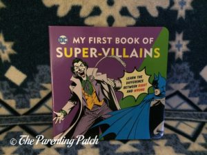 'My First Book of Super-Villains' of 'DC Super Heroes Little Library'