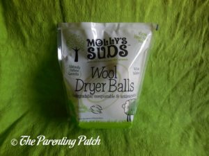 Molly's Suds Wool Dryer Balls Package