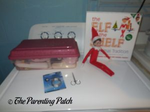 Elf on the Shelf with Hack Materials