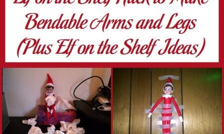 Elf on the Shelf Hack to Make Bendable Arms and Legs
