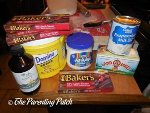 Ingredients for Easy Fudge