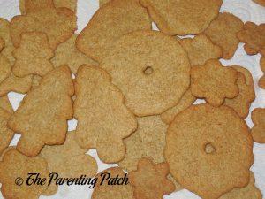 Rolled Almond Vanilla Cookies