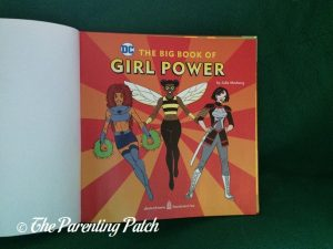 Inside Pages of 'The Big Book of Girl Power' 1