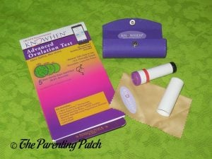 Opening the KNOWHEN Advanced Ovulation Test Kit