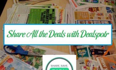 Share All the Deals with Dealspotr