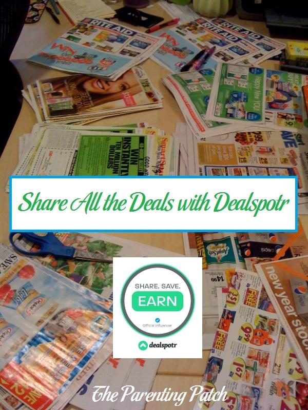 Share All the Deals with Dealspotr