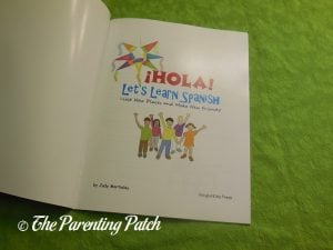 Inside Pages of '¡Hola! Let's Learn Spanish' 1