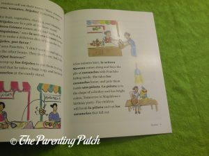 Inside Pages of '¡Hola! Let's Learn Spanish' 3