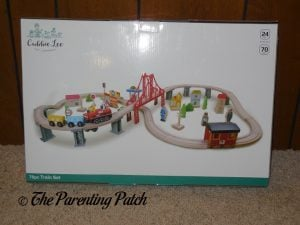 Wooden Toy Train Set from Cubbie Lee Toy Company