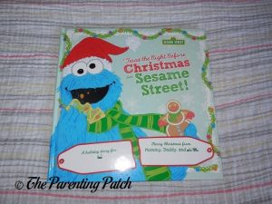 Put Me in the Story 'Twas the Night Before Christmas on Sesame Street' Cover