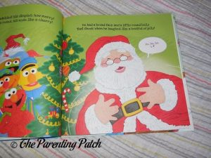 Inside Pages of Put Me in the Story 'Twas the Night Before Christmas on Sesame Street' 3