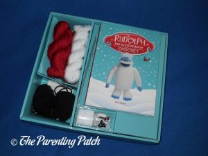 'Rudolph the Red-Nosed Reindeer Crochet' Materials