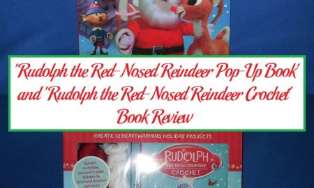 'Rudolph the Red-Nosed Reindeer Pop-Up Book' and 'Rudolph the Red-Nosed Reindeer Crochet' Book Review