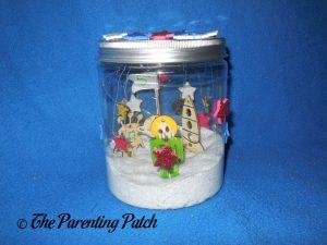 Finished Seedling DIY Galaxy in a Jar