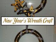 New Year's Wreath Craft