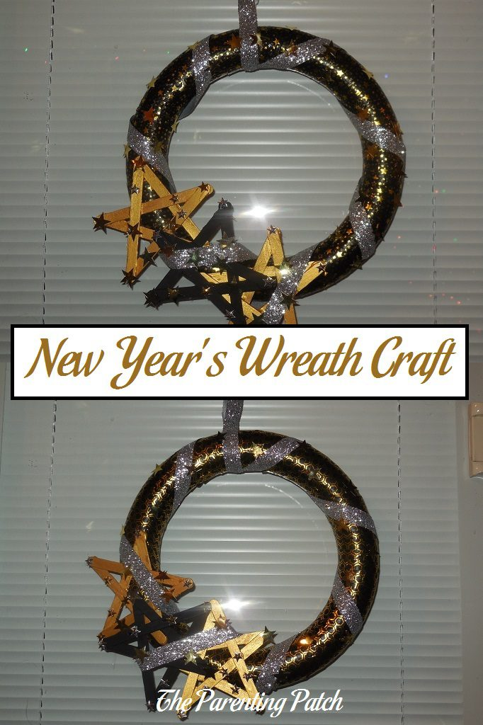 New Year's Wreath Craft