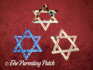 Finished Star of David Hanukkah Ornament Crafts