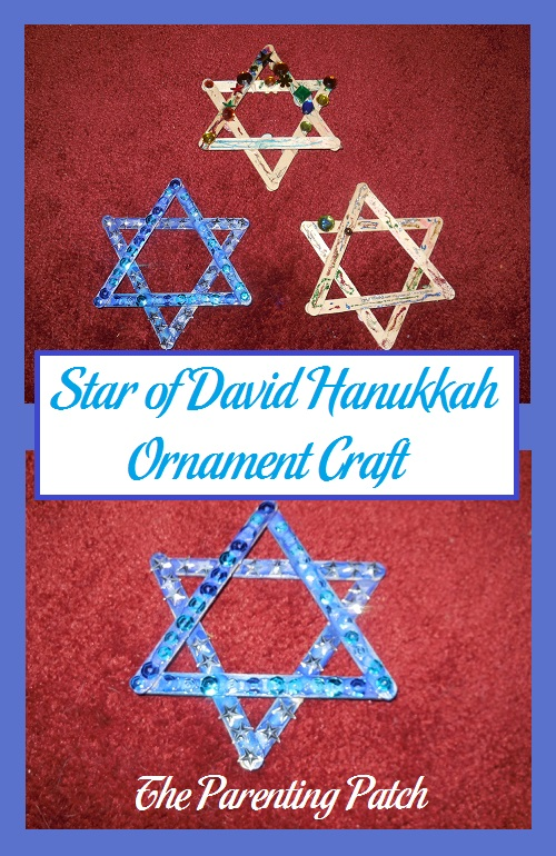 Star of David Hanukkah Ornament Craft