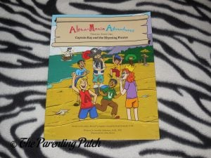 Cover of 'Alpha-Mania Adventures: Captain Ray and the Rhyming Pirates'