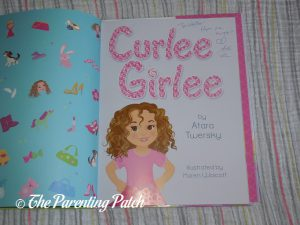 Inside Pages of 'Curlee Girlee' 1